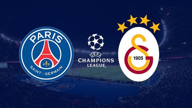 PSG - Galatasaray maçı canlı izle